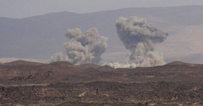 قصف المناطق الحدودية