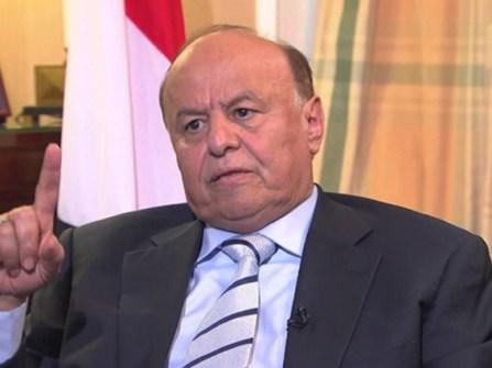 هادي مع السفير الامريكي