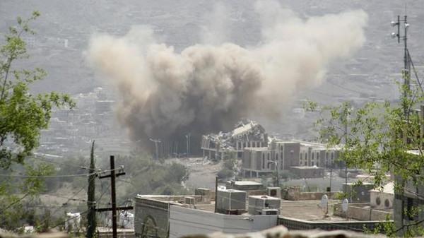انفجارات في احدى المدن اليمنية