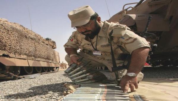 جندي من جنود التحالف