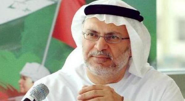 قرقاش وزير الخارجية الاماراتي