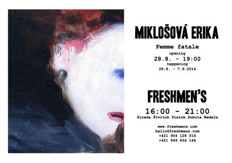 Erika-Miklosova-Freshmen's_Gallery-pozvanka