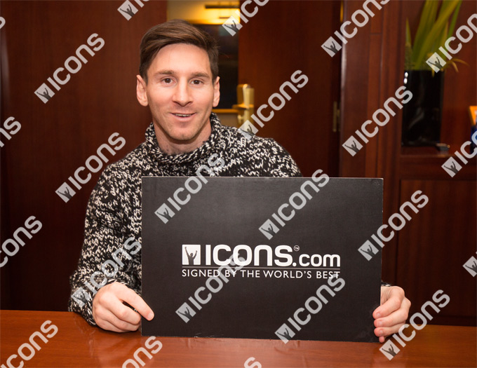 Lionel Messi Official Signed Memorabilia - Signed Shirts, Photos, Boots, Footballs