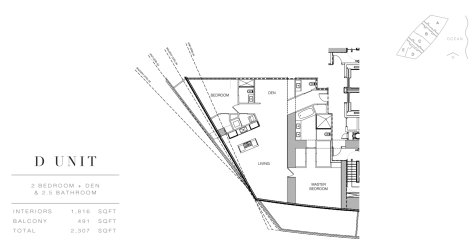 Residence by Armani Casa: Floor Plan D (Level 4)