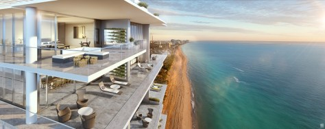 L'Atelier Miami Beach Condos - Balcony View