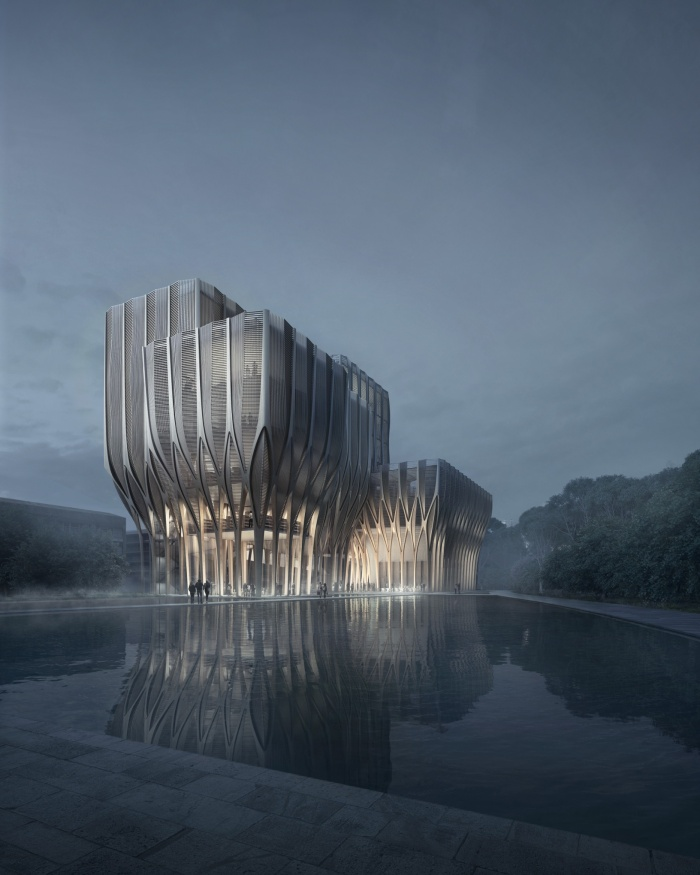 The Sleuk Rith Institute, The Design & Architecture