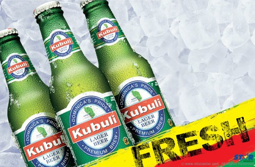 Straight out of Dominica, Kubuli is now available in St Lucia!