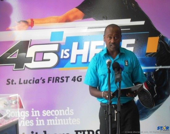 LIME St Lucia General Manager Chris Williams.