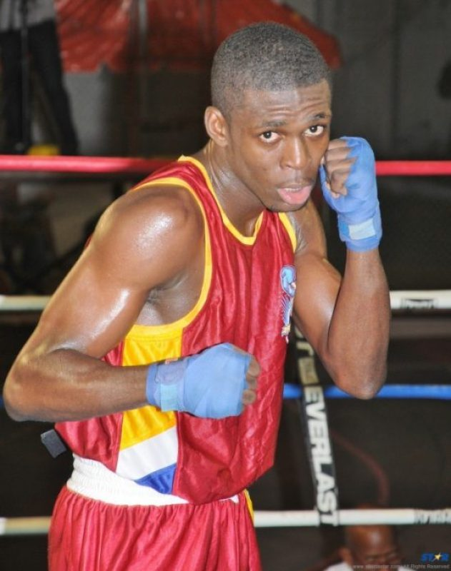 "Lyndell ""The Russian"" Marcellin lost his bout on points."