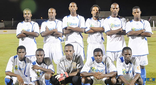 Blackheart Knockout Football champions Gros Islet go up against the Coca-Cola All Stars Monday evening at the Beausejour Cricket Ground.