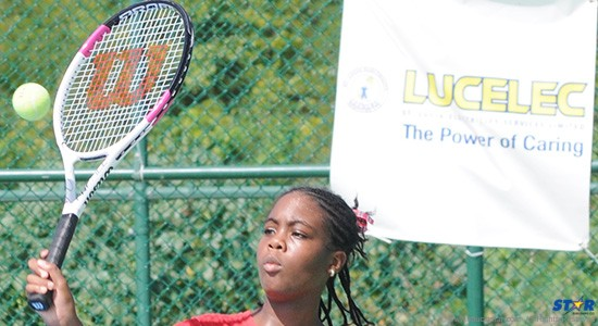 Rudel Octave of Ave Maria Primary won the Girls Primary Singles title.