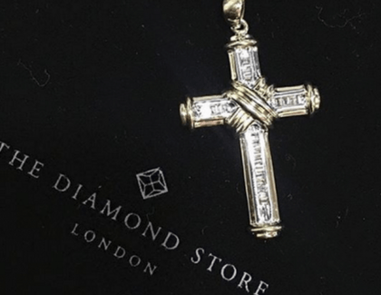 10 Best Diamond Cross Necklaces from £115