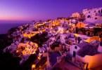 جزيرة سانتوريني ـ اليونان
