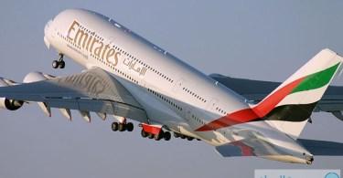 """طيران الإمارات يفوز بجائزة """"أفضل ناقلة بالعالم"""" عام 2013 من """"سكاي تراكس"""""""