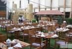 مطعم جاردن باربكيو في فندق الخزامى