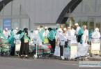 الحجاج في مطار الملك عبد العزيز
