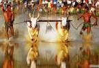"""مارامادي"""" مهرجان الجري مع الثيران كيرالا الهند"""