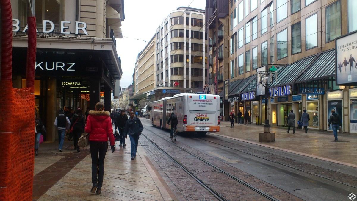 خلال رحـلتك .. أين تتسوق في مدينة جنيف ؟