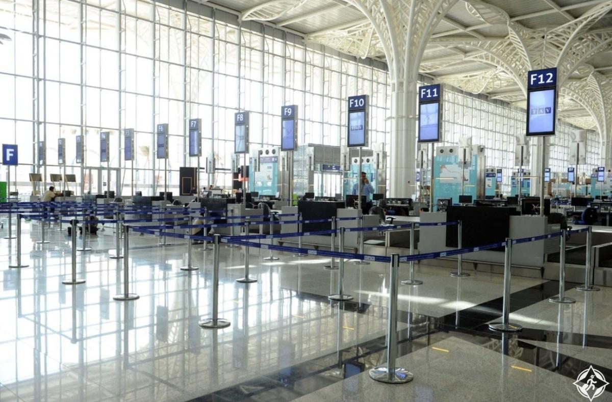 افتتاح مطار الأمير محمد بن عبدالعزيز الجديد بالمدينة