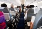 الركاب على متن الطائرة