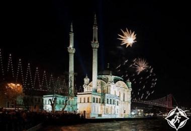 رأس السنة في اسطنبول