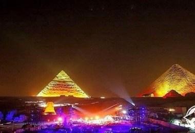 احتفالات العام الجديد في مصر