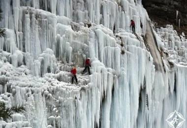شلالات جبل تايهانغ