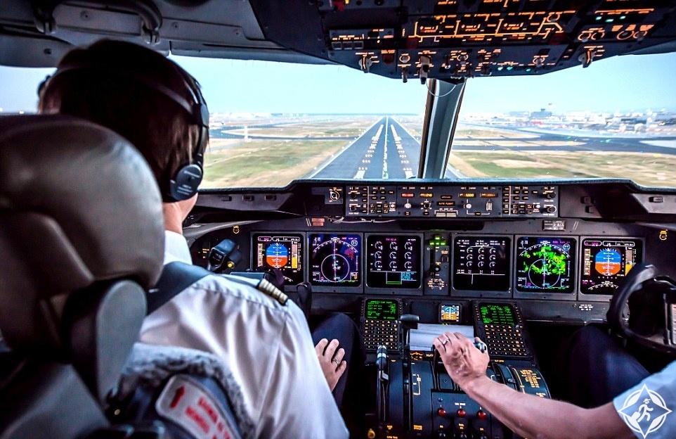 بالصور.. طيار يلتقط صورا رائعة من داخل قمرة القيادة