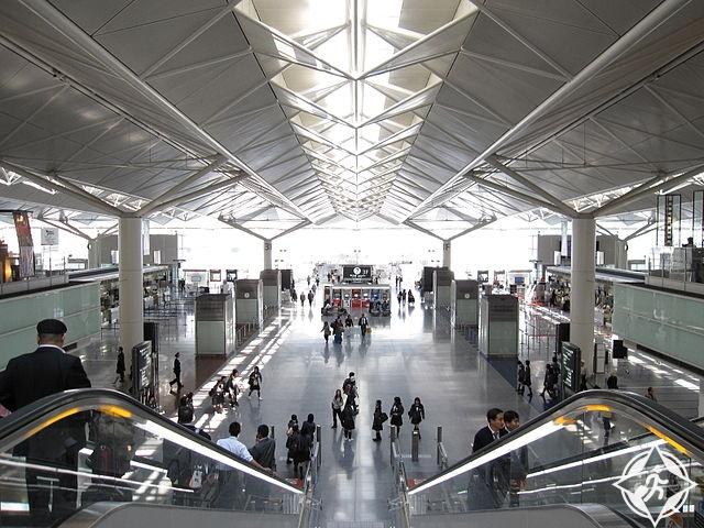 المطارات العشرة الأوائل العالم لعام تشوبو-سنترير-الدولي.