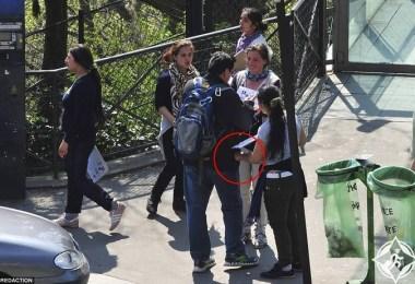 سرقة السائحين في برشلونة