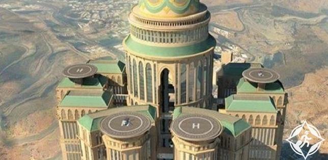 افتتاح أكبر فندق في العالم بمكة المكرمة في 2017