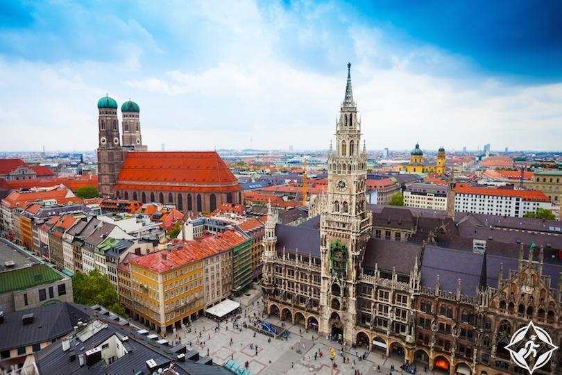 ميونيخ .. افضل مناطق سياحية في المانيا