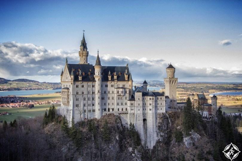 نويشفانشتاين افضل مناطق سياحية في المانيا