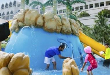 السفر الى دبي مع الاطفال