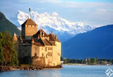 القلاع في سويسرا