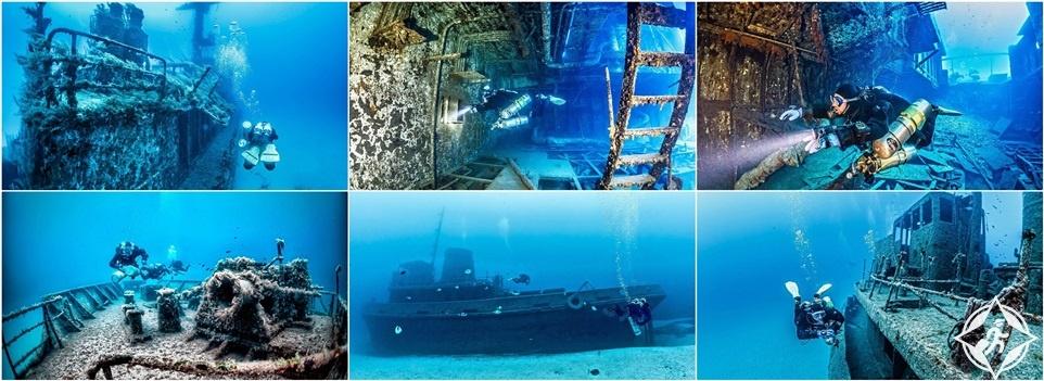 شاهد بالصور.. حطام السفن الغارقة في البحر الأبيض المتوسط