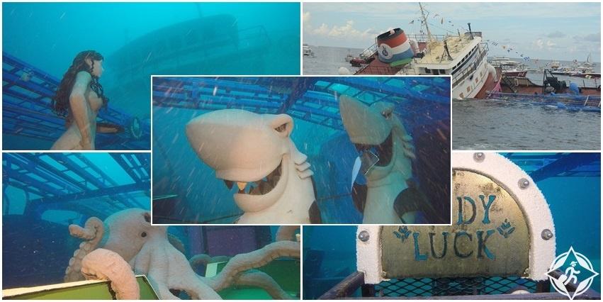مرحبا بكم على متن أول معرض فني تحت الماء في العالم