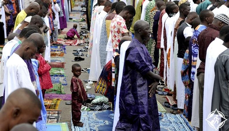 صلاة العيد في ساحل العاج