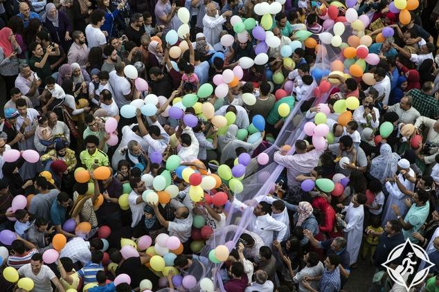 صلاة العيد في القاهرة