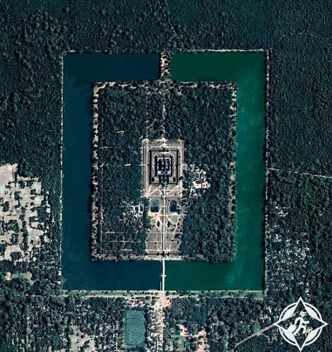 مجمع معبد في كمبوديا