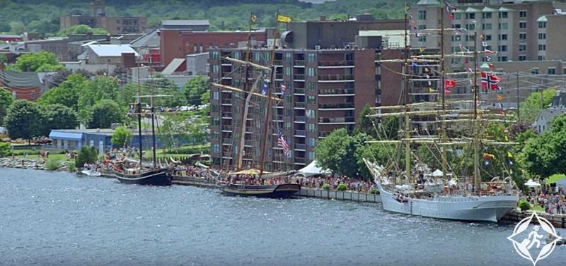مهرجان السفن طويلة القامة