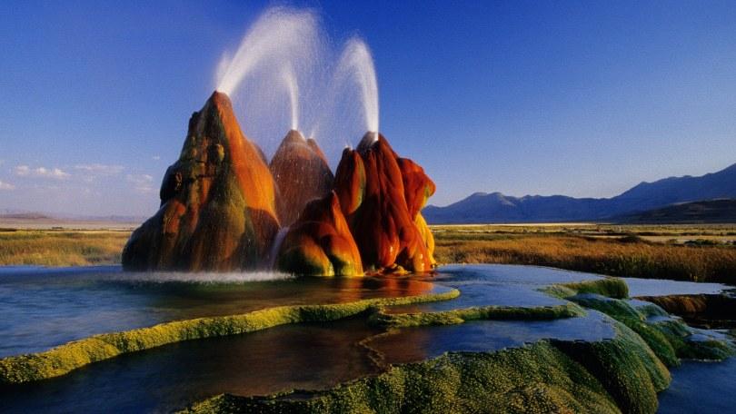 Fly Geysir, USA, Nevada