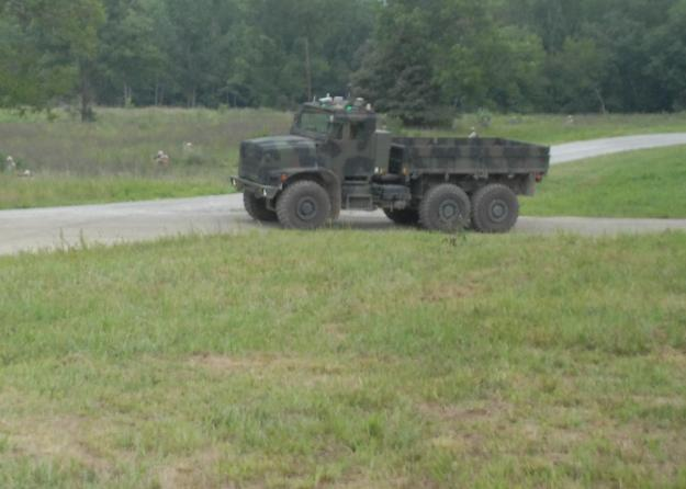 Unmanned MTVR at Ft. Pickett, Va. on July, 30 2012  U.S. Naval Institute Photo
