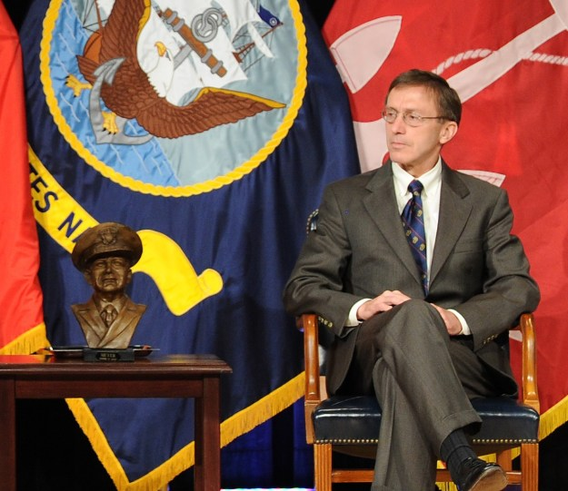 Sean Stackley at a June 15, 2012 ceremony at the Pentagon. U.S. Navy Photo