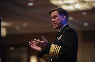 File photo of Adm. Mark Ferguson. US Navy Photo