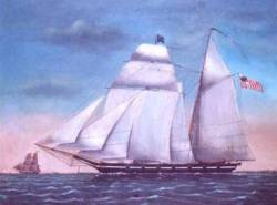 A Morris-Taney class Revenue Cutter, circa 1832