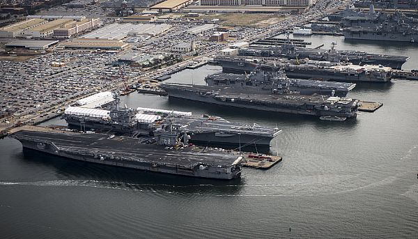 Extended Continuing Resolution Could Threaten Navy Ship Deliveries, Carrier Refueling