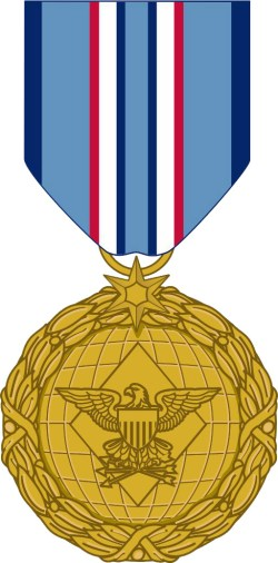 The new Distinguished Warfare Medal annouced in February at the Pentagon. DoD Photo