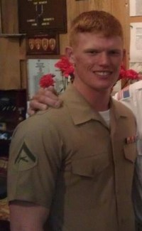 Lance Cpl. Joshua C. Taylor, 21, of Marietta, Ohio.