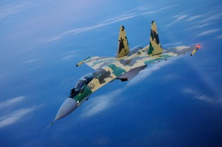 A Su-35 Flanker tactical fighter. Sukhoi Photo